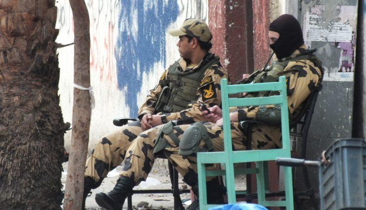 Soldati egiziani sotto accusa