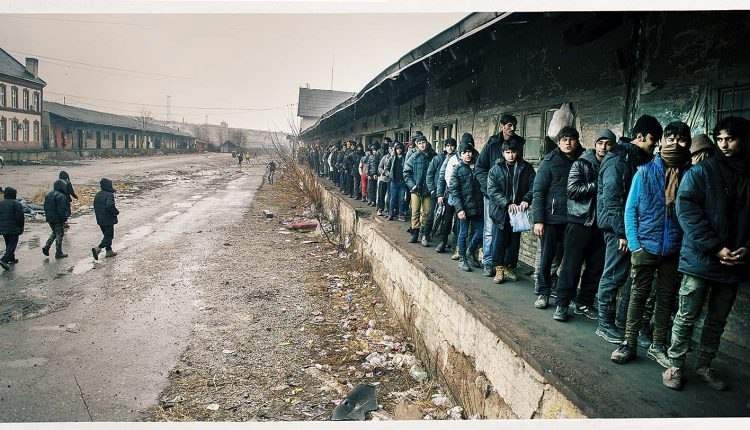 migranti a belgrado