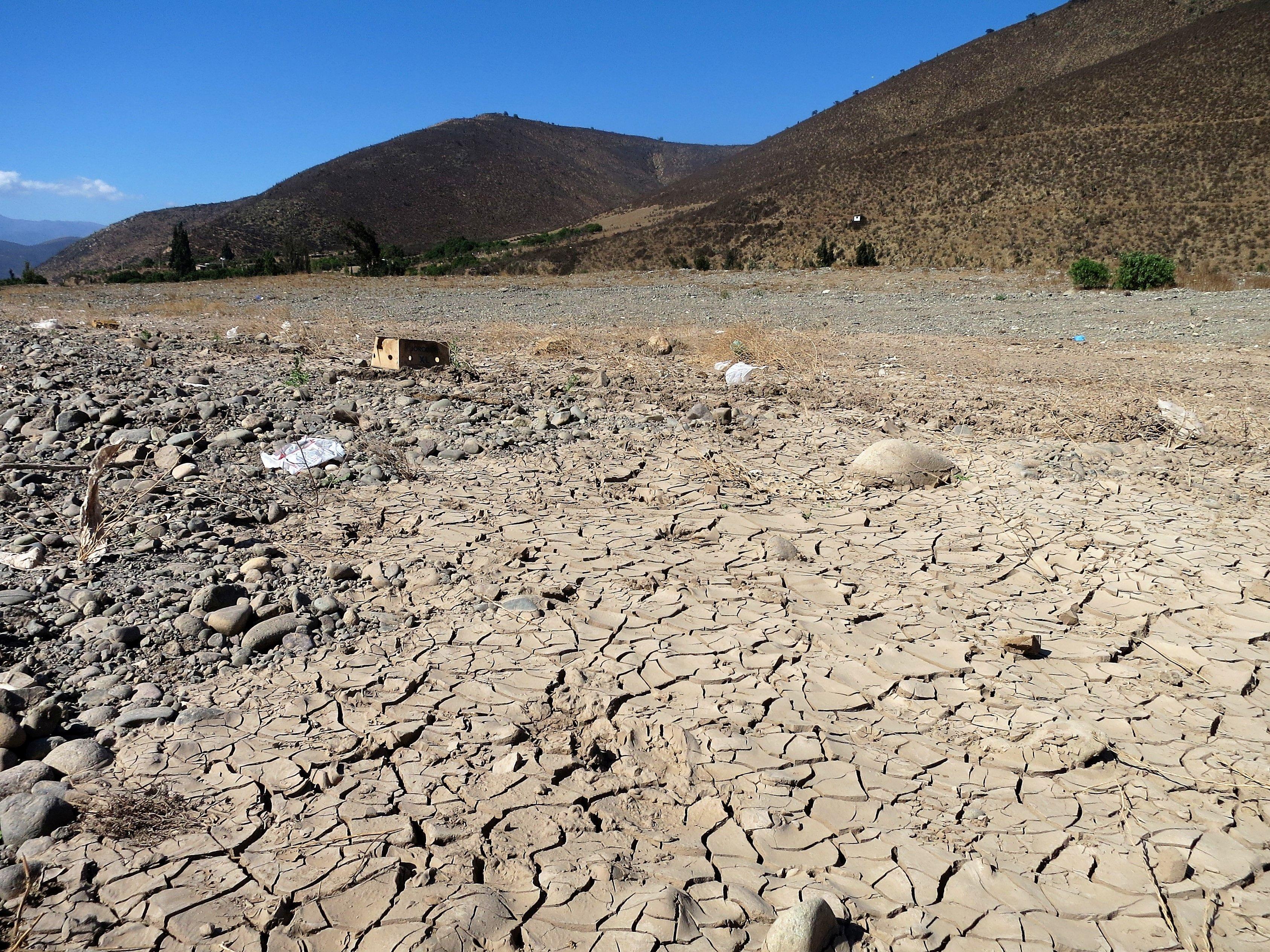 Risultati immagini per siccità cile