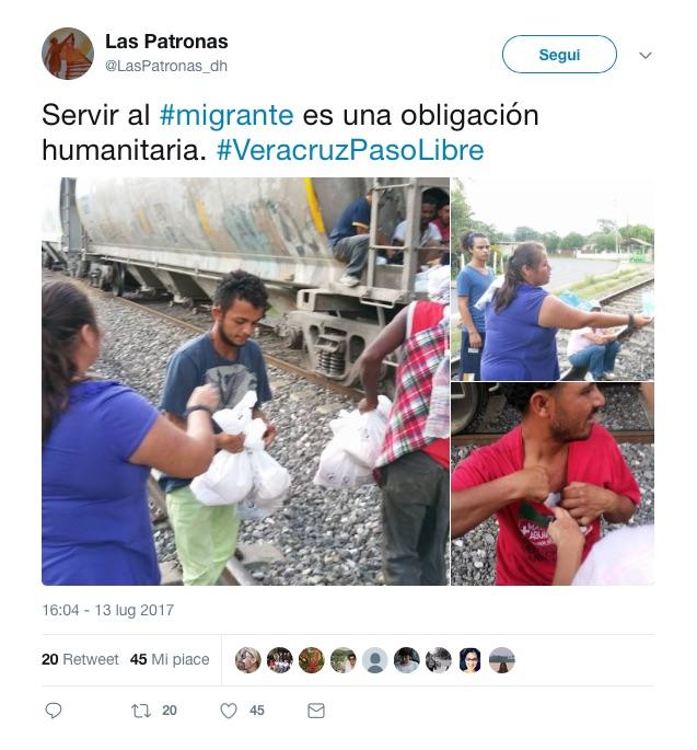 Messico Las Patronas