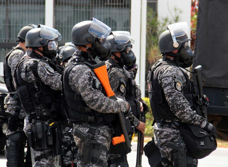 Brasile polizia militare