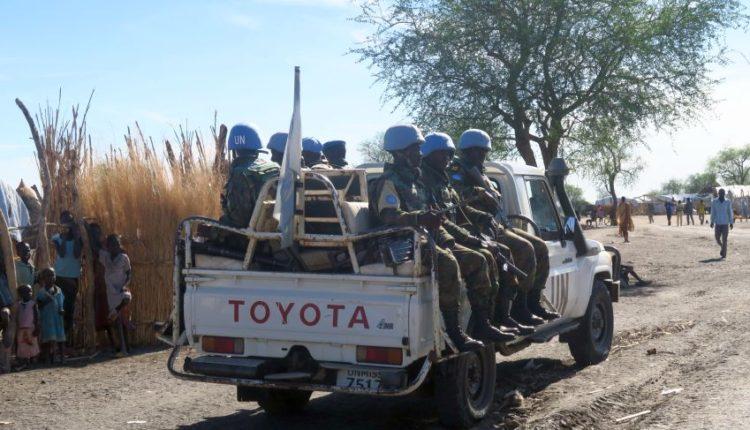 Peacekeepers Onu in Sud Sudan