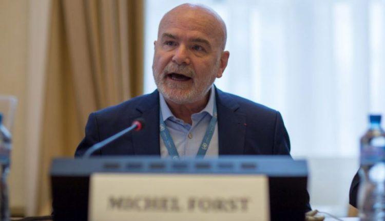 Michel Forst, relatore speciale Onu per i difensori dei diritti umani