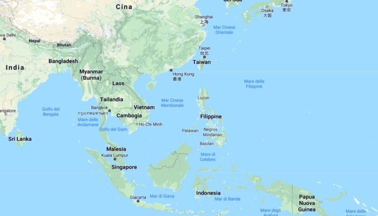 Mappa delle Filippine