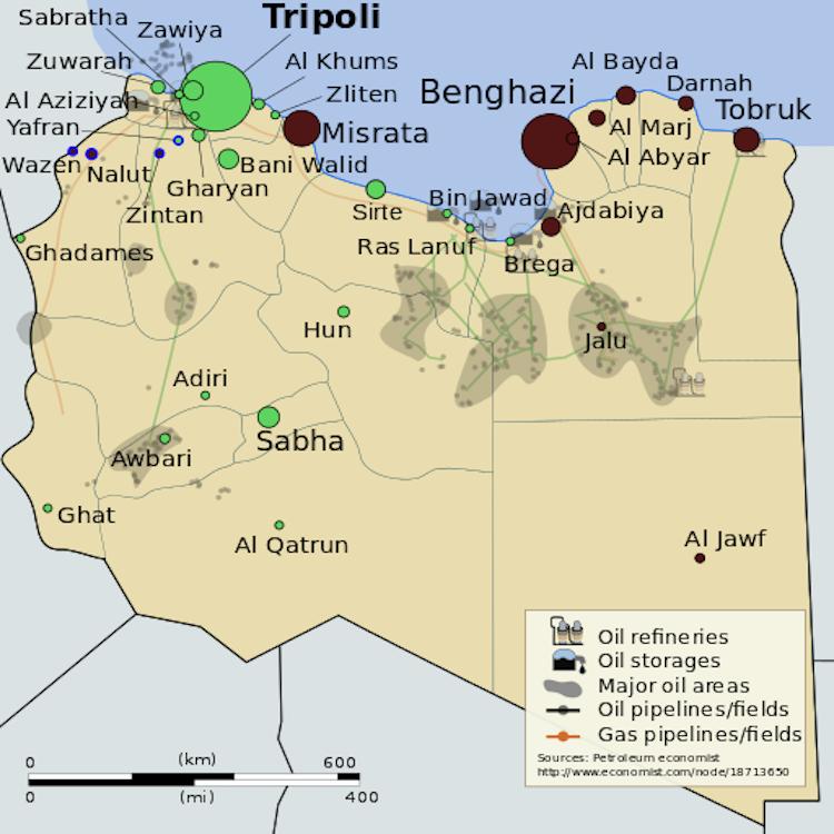 bombardamenti libia