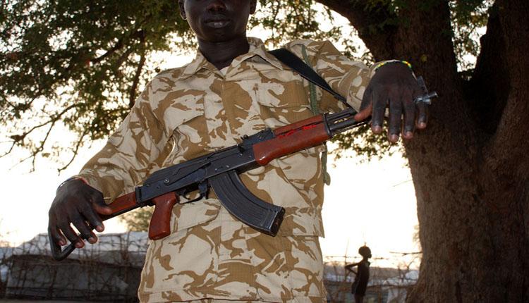 Sud Sudan guerra
