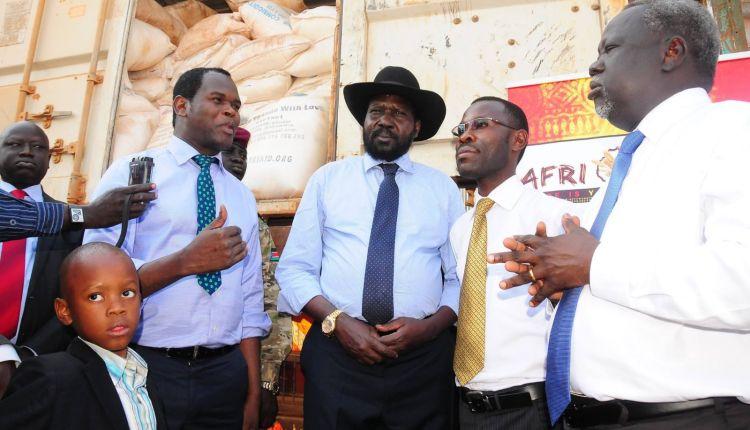 sud sudan presidente salva kiir