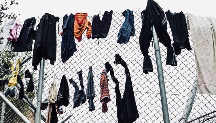 samos grecia campo profughi