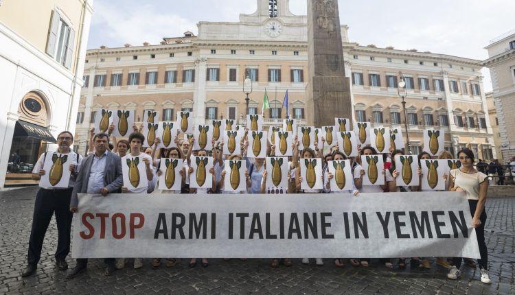bombe italiane nello yemen