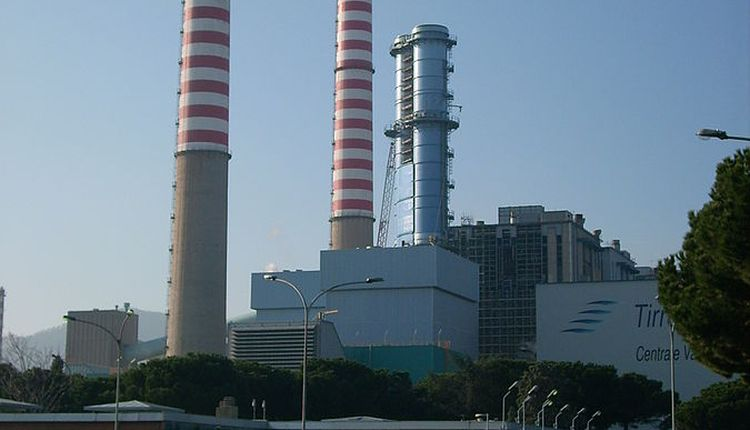 inquinamento da centrali a carbone