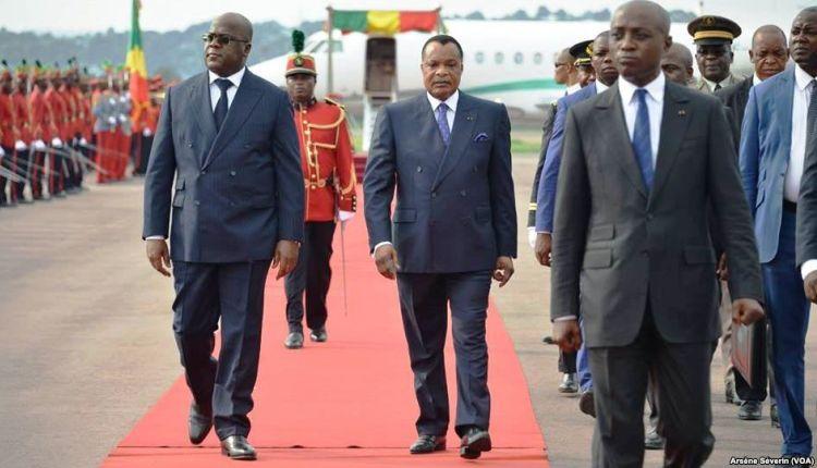 Presidenti della Repubblica democratica del Congo e della Repubblica del Congo