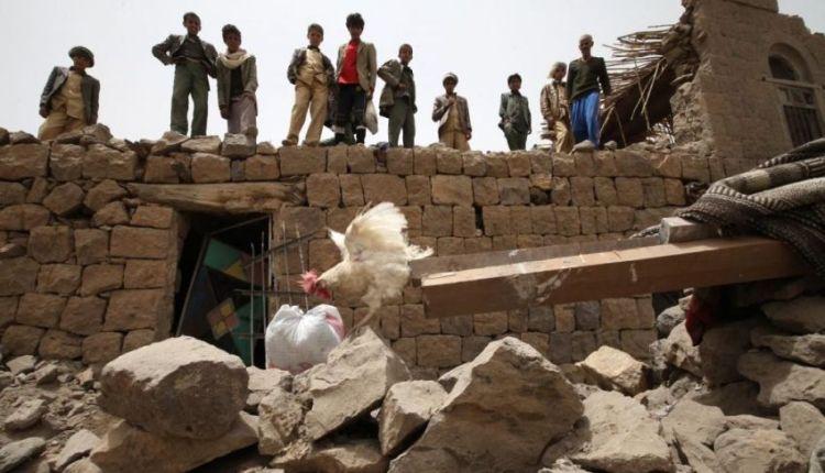 yemen guerra bambini