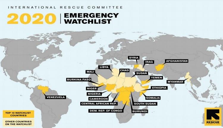 crisi umanitarie nel mondo