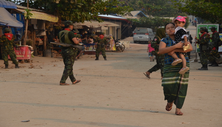 myanmar guerra civile