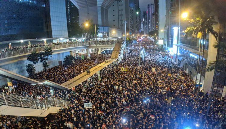hong kong proteste oggi