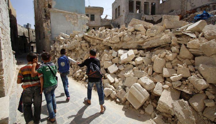 bambini guerra siria