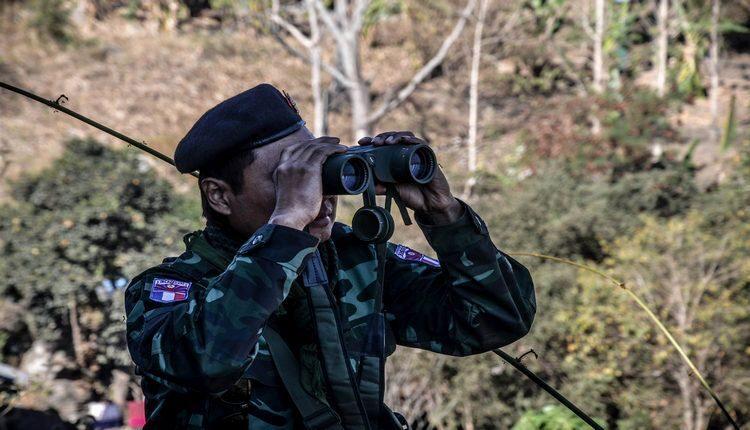 guerra in myanmar