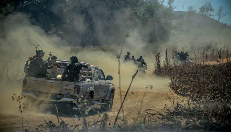 guerra birmania morti